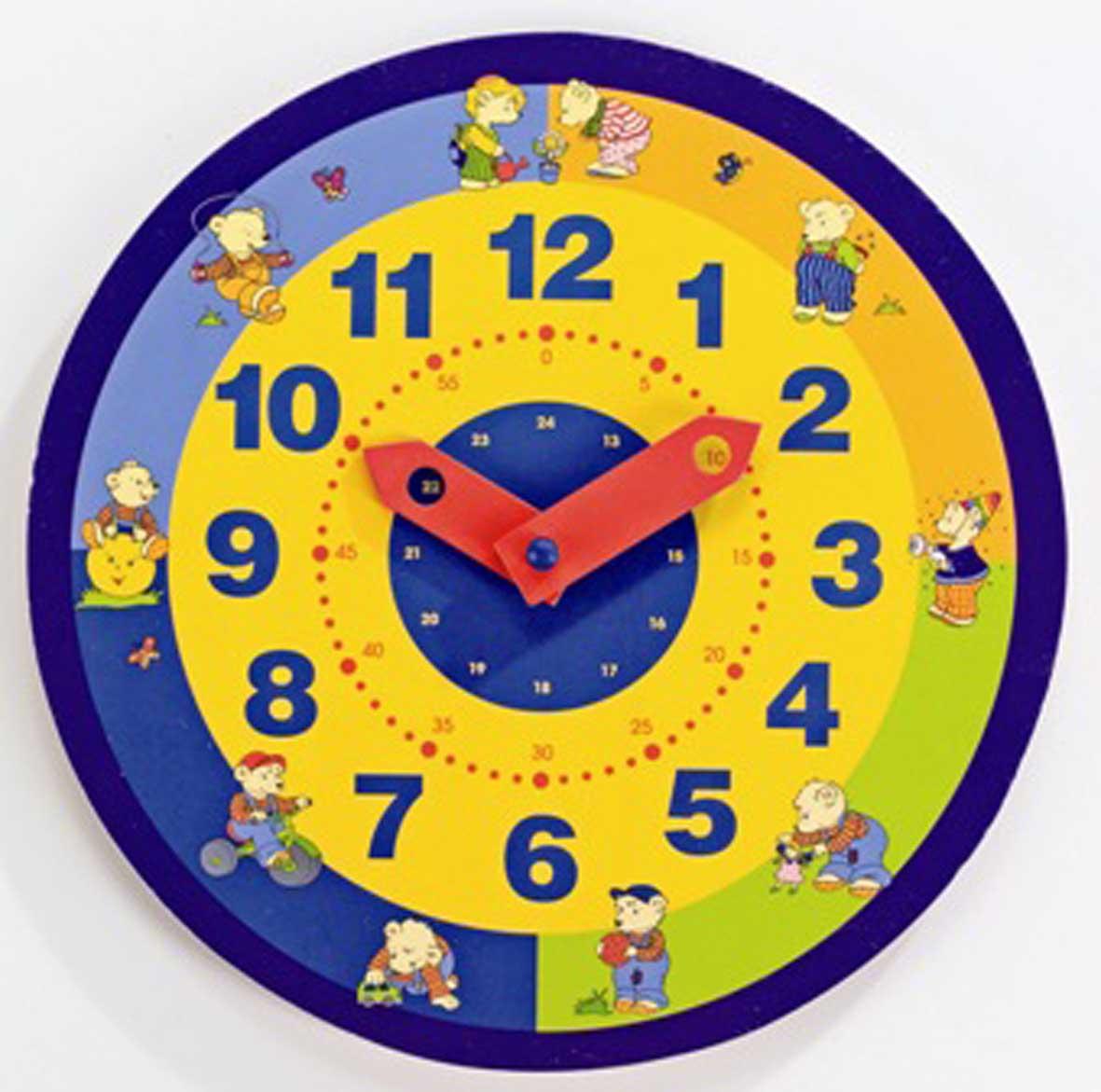 урок презентация час минута определение времени по часам